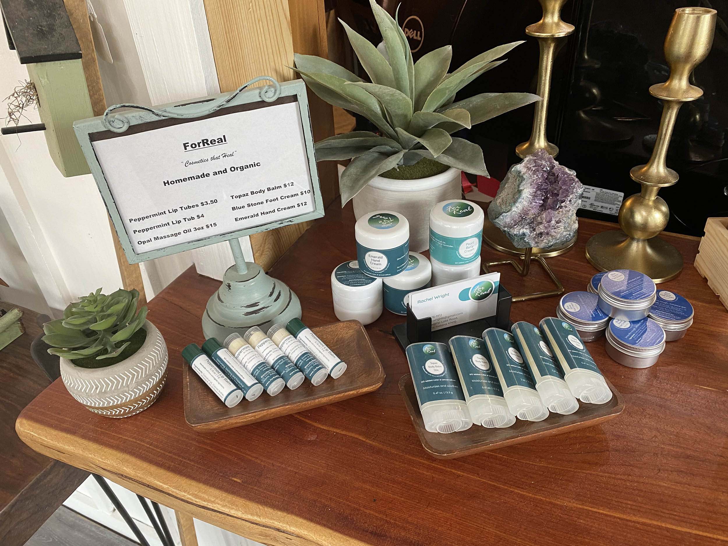 for real products - good earth